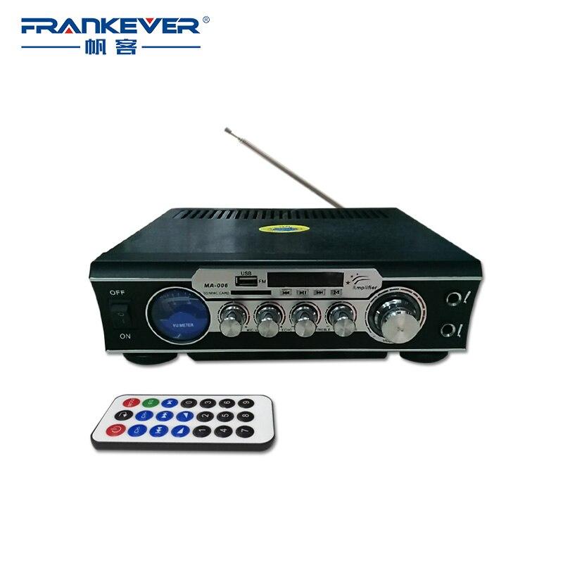 FrankeverAudio Car Amplifier Home Car Amplifier Support SD/TF Sound Speaker tda7377 AC220-240V Subwoofer AMP Free ShippingMA-006 все цены