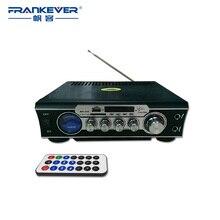 FrankeverAudio Car Amplifier Home Car Amplifier Support SD TF Sound Speaker tda7377 AC220 240V Subwoofer AMP