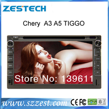 ZESTECH car dvd player for Chery A3 A5 Tiggo with FM/AM radio bluetooth gps navigation with Latest russian and brazil map