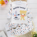 Newborn Baby Clothing Set Baby Clothes Long Sleeve T-shirt + Pants Set Cotton Newborn Clothing Set Children Costume Kids Set