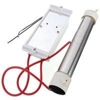 Ac 110v 3g/hr gerador de ozônio tubo de ozônio diy para purificadores ar planta água eletrodomésticos