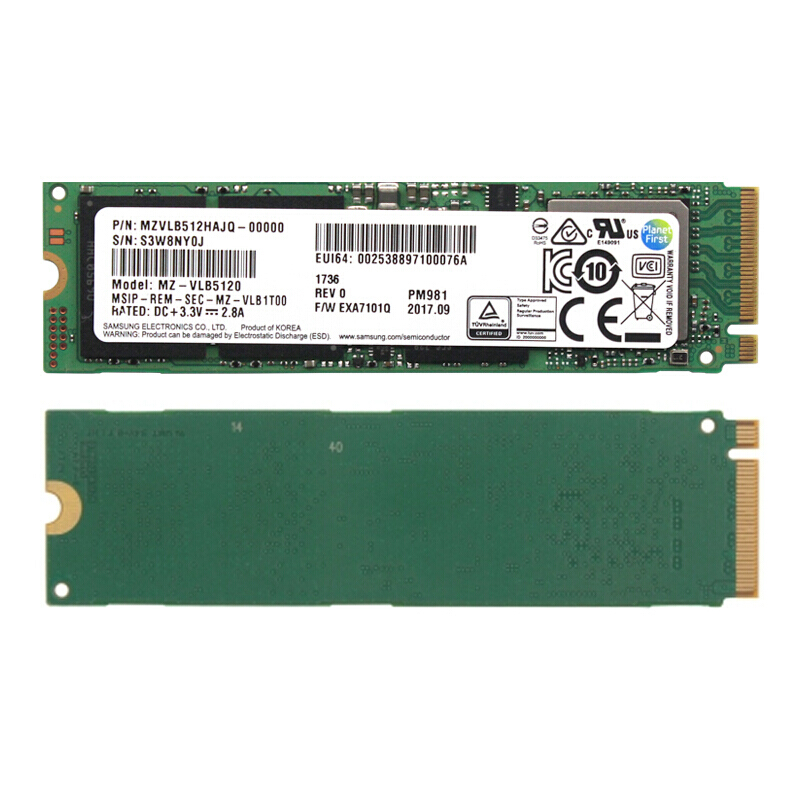 Samsung PM961 256G PCIE NVME M.2 M2 SSD Solid state Drive For Laptop Desktop 2018 new 20kingspec m 2 pcie nvme 22 80 ssd 120gb 240gb 480gb solid state drive for laptop desktop solid state drives
