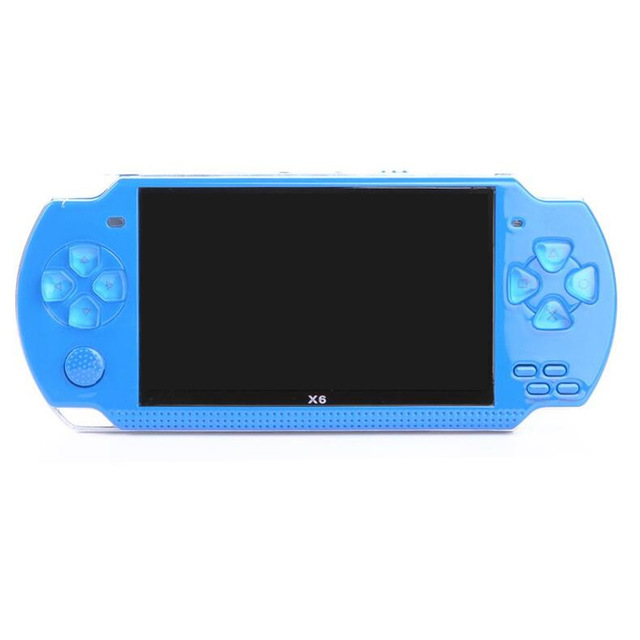 Livraison gratuite Console de jeu portable 4.3 pouces écran mp4 lecteur MP5 lecteur de jeu réel 8 GB support pour jeu psp, caméra, vidéo, e-book - 4
