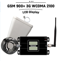 NEW LCD Display GSM 900mhz 3G WCDMA 2100mhz Dual SignalBand Repeater GSM 3G UMTS Mobile Phone