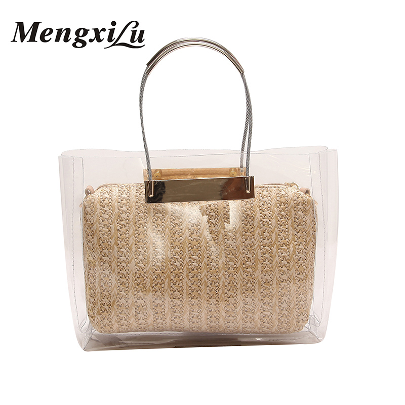 2018 New Arrivals High Quality Women Straw Handbag For Summer Hot Sale Shoulder Bags For Teenager Girls Luxury Women Hand Bags