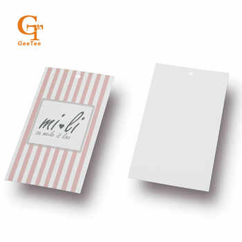 custom brand name logo printed paper swing hang tag,Customized OEM shopping tags labels, paper price labels tags shipping labels