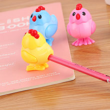 Cute Creative Chick Pencil Sharpeners Kawaii Cartoon Sharpener For Kids Novelty Gift Korean Stationery Office School Supplies(China)