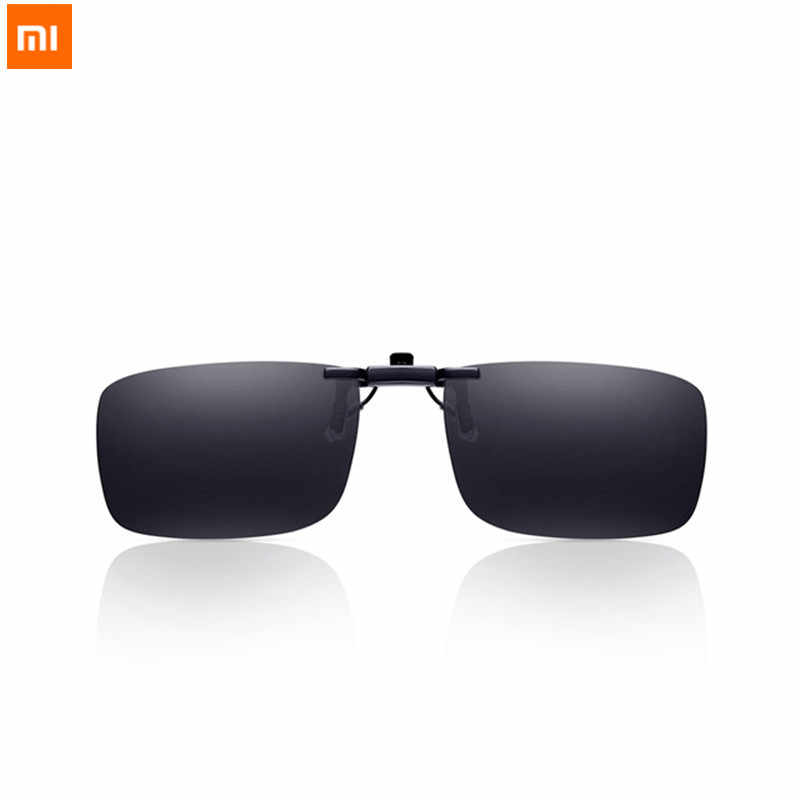 New Xiaomi Mijia Turok Steinhardt TS Brand Clip Sunglasses Polarized Clear Sight Glass Anti UVA UVB for Outdoor Travel Man Woman