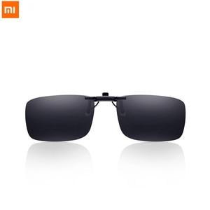 Image 1 - Xiaomi Turok Steinhardt TSยี่ห้อคลิปแว่นตากันแดดPolarized Clear Sight Glass Anti UVA UVBสำหรับOutdoor Travel Man Woman