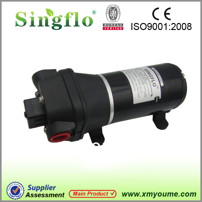 Singflo Wholesale FL 40 12v DC water pump for RV marine package price 10pcs ctns