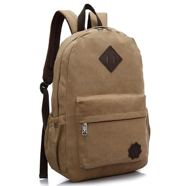 스테이시 가방 핫 세일 남성 캔버스 배낭 학생 학교 가방 여행 배낭