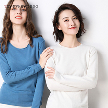 Kinted Sweaters Women Winter 2019 Autumn White Ladies And Pullovers Plus Size Swaeter Korean Style