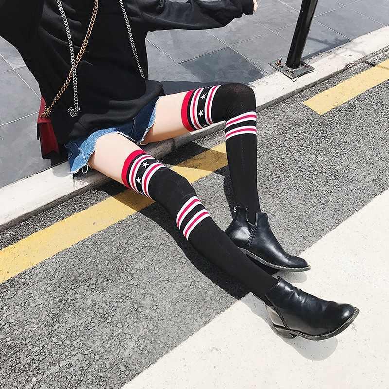 2b9412b06 ... New Arrival knee Socks High Socks Over Knee Girls Comfortable stockings  women stockings sexy girls ...