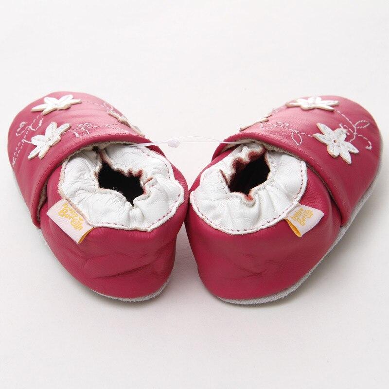 Leder Babyschuhe Kleinkind Kinder Schuhe Mädchen Baby Mädchen Erste - Babyschuhe - Foto 5