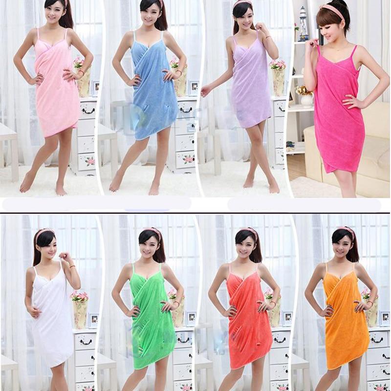 Beach Towel Womens: Soft Wearable Sexy V Neck Women Super Absorbent Green
