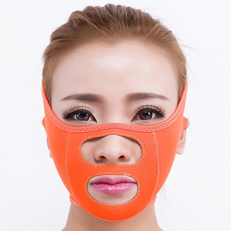 Slimming powerful Face-Lift Bandage Sleeping Mask Massage Slimming Face Shaper Relaxation Facial Lean masseter jaw health care body massage beauty thin face mask the treatment of masseter double chin mask slimming bandage cosmetic mask korea