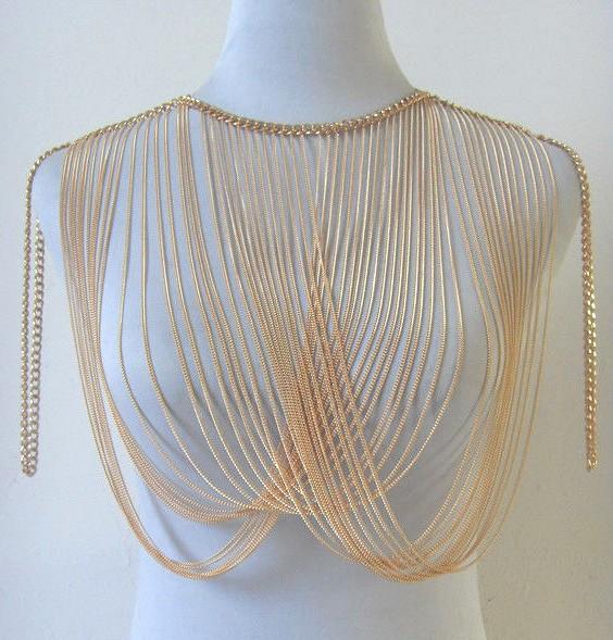 HTB1u5NTHpXXXXXmXVXXq6xXFXXXz Multilayer Tassel Shoulder Harness Body Necklace