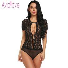 8f5b3fd688 Avidlove caliente Sexy Lencería erótica mono Sexy ropa interior Mujer ropa  interior Sexy de una sola
