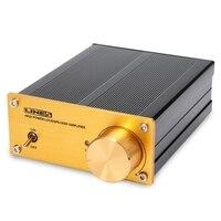 Lynepauaio 50W+50 Digital Power Amplifier Line Input Tpa3123D2 +Ne5532 Chip Desktop Stereo Power Amplifier(Us Plug)