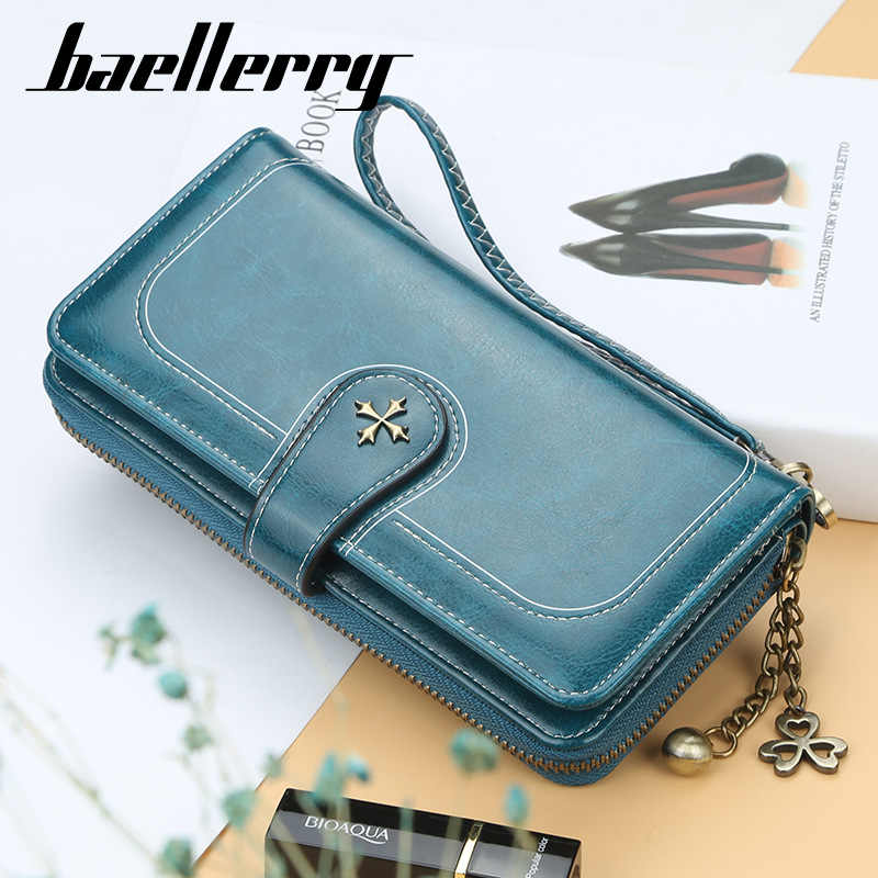 Baellerry Multi-Function Women Wallets Money Bag Coin Pocket Big Capacity Phone Wallet Women Card Holder Ladies Clutch Purse W50