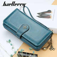 Baellerry Big Capacity Wallet Women Long Card Holder Luxury Ladies Clutch Purse Phone Women Wallets Money Bag Coin Pocket W050