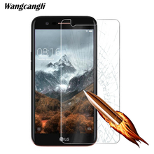 Wangcangli Screen Protector For LG K10 2018 Tempered Glass 9H Protective glass Cell Phone 2.5D