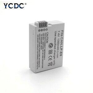 1pc 1350mAh 7.4V Li-ion Battery LP-E8 LPE8 Rechargeable Digital Batteries for Canon EOS Rebel T2i 550D 600D 650D 700D Kiss X4 X5