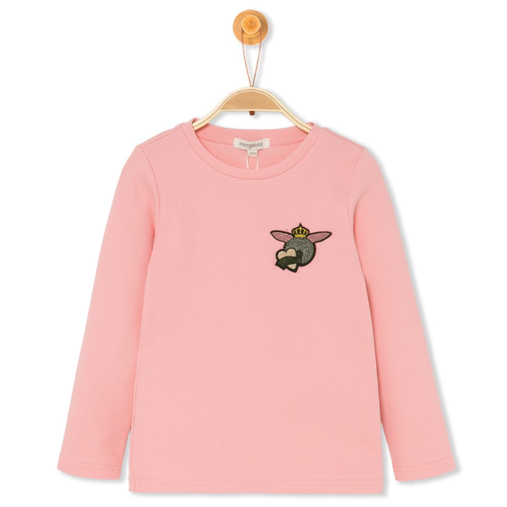 Girl T Shirt Children Kids Long Sleeve Tops Tiny Cottons 2018 High Girl Tshirt With Long Sleeve Animal Cartoon Kid Girls Clothes