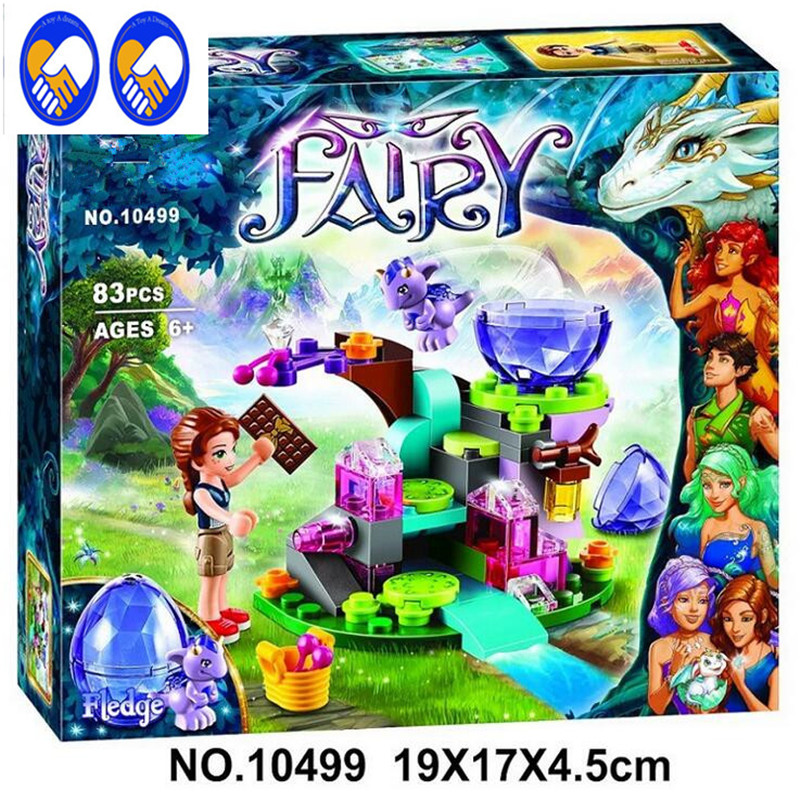 A Toy A Dream BELA 83pcs Friends Emily Jones & the Baby Wind Dragon Model Building Blocks Toy Lepin 41171 Bricks set Elves Toy hot nuevo 10415 elfos azari aira naida emily jones cielo fortaleza castillo building block toys