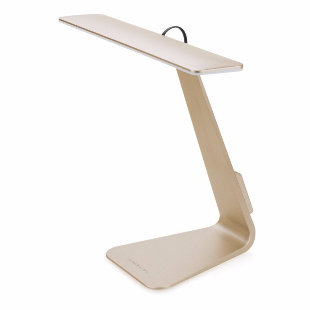 Dimbare Tafellamp Oplaadbare LED Bureaulamp Ultra Compact Ontwerp met 3 Helderheid niveaus van Lezen Studie Lamp Licht-in Bureau lamp van Licht & verlichting op Eleoption Store