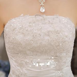Image 5 - Cheap Real Photo Customized Princess Lace with Train China 2020 Vintage Plus Size Wedding Dresses Bridal Gowns vestido de noiva