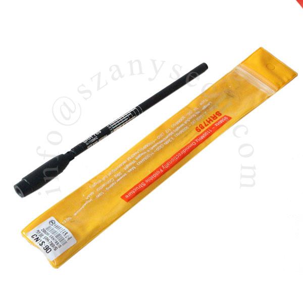 SRH789 antena SMA-M 95-1100 MHz SMA Macho Plegable Telescópica Para walkie talkie UV-3R PX-2R UV-985 ZT-2R KG-UV6D TH-UV3R