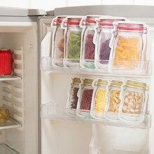 Кухня чехол для хранения, на молнии свежий Еда пакет с зажимом для закусок сцепление Кофе Пластик прозрачная пленка сумка для хранения кемпинг питания Лидер продаж