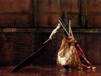 00 Silent Hill Pyramid Head Game 32 X24 Poster