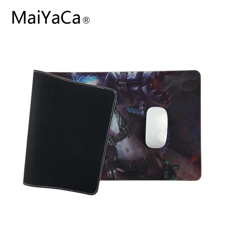 MaiYaCa Gaming Mouse pad Jinx Quality full-color printing Classic Skin Mouse Pad Rubber Soft Anti-Slip Laptop keyboard Mat XL