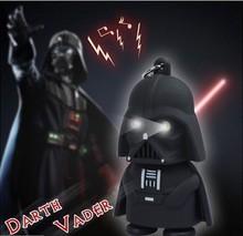 LED Flashlight keychain Darth Vader star war Anakin Skywalker figure keychains MK01
