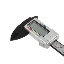6 inch 150 mm Carbon Fiber Composite Vernier Digital Electronic Caliper Ruler LB88
