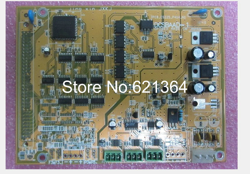 Techmation DCSBAAD-1 Motherboard for industrial use new and original 100% tested ok ...