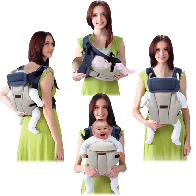 68c277d37aa 2016 Weight lighter Four Position Baby Carrier Infant Backpack Toddler Sling  Wrap Baby Suspenders Kids Carriage Baby Care NWT