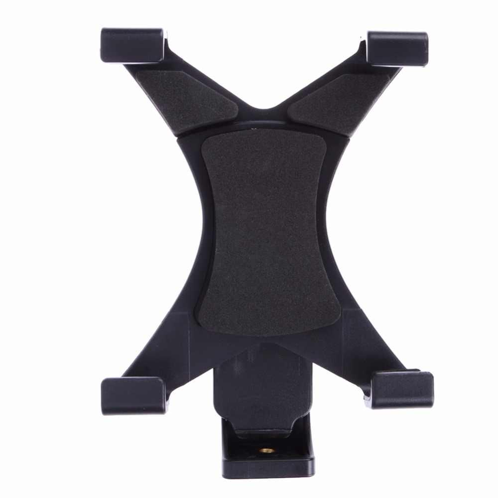 """Universal Tablet Stativ Montieren Klemme Mit 1/4 """"Gewinde Adapter Für iPad 2/3/4/Air/air2/mini Für Galaxy Tablet Telefon Halterung Halter"""