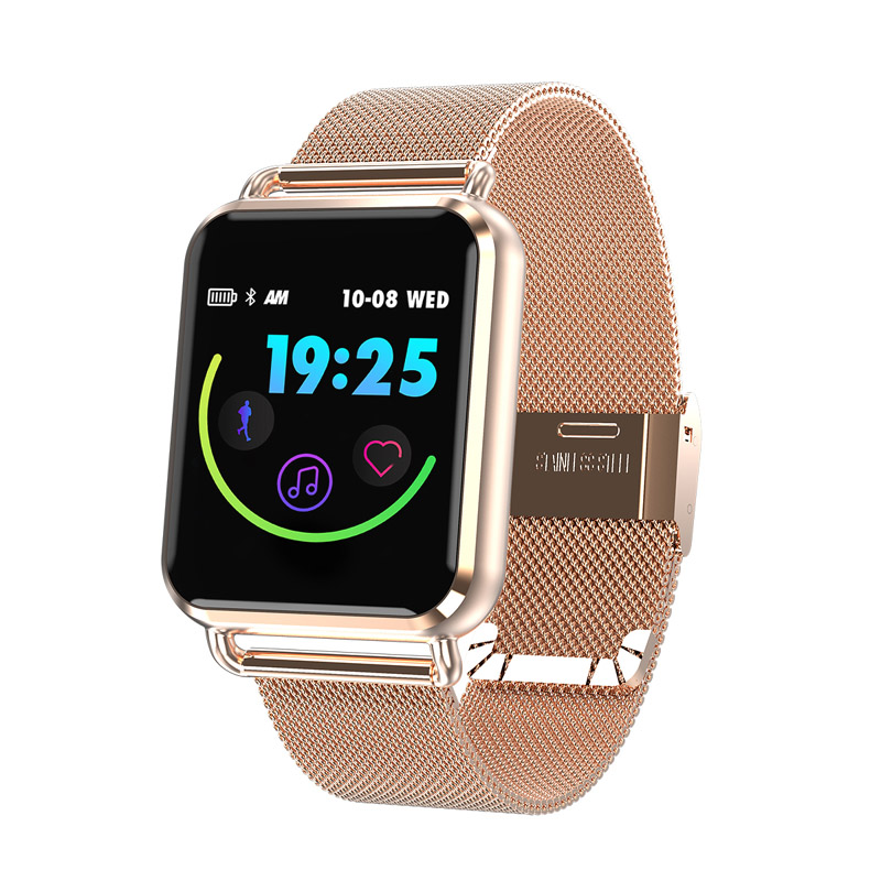 Q3 mode montre intelligente Bracelet moniteur de fréquence cardiaque Sport Bluetooth montre-Bracelet étanche podomètre hommes femmes Bracelet intelligent
