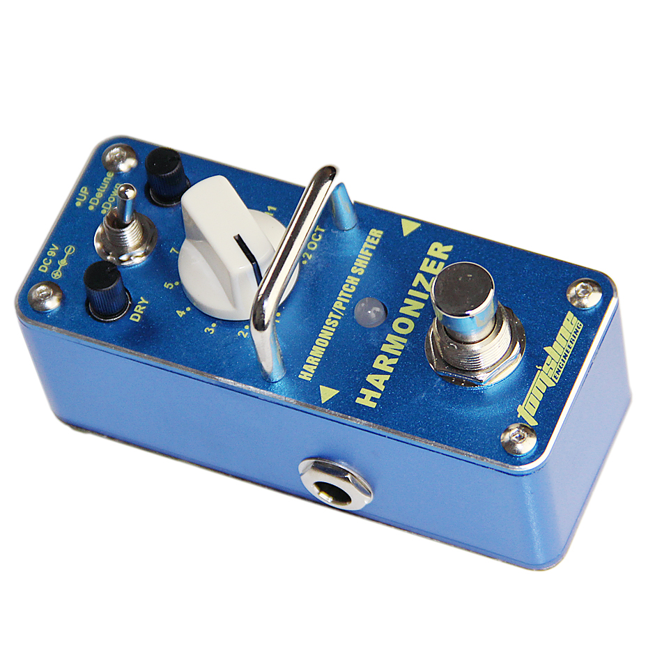 AROMA AHAR-3 HARMONIZER Pitch shifter Dry, wet and range control Mini Digital Effect True Bypass aroma ahar 3 harmonizer harmonist pitch shifter electric guitar effect pedal mini single effect with true bypass