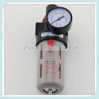 Free Shipping 1 4 Pneumatic Source Treatment Unit BFR2000 Air Filter Pressure Regulator