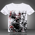 2017 Summer anime printed Tokyo Ghoul T shirt hot fancy Tokyo Ghoul T-shirt for women and men tokyo ghoul ken tshirt MD-008