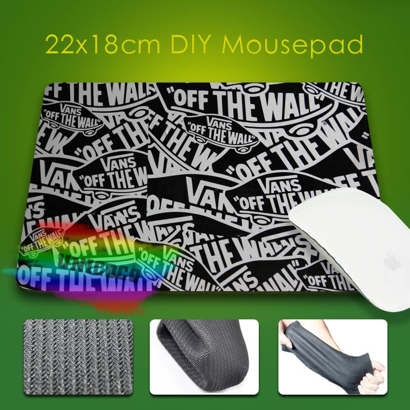 Personalized Gaming Vans Off The Wall Rubber Mouse Pad Computer ...