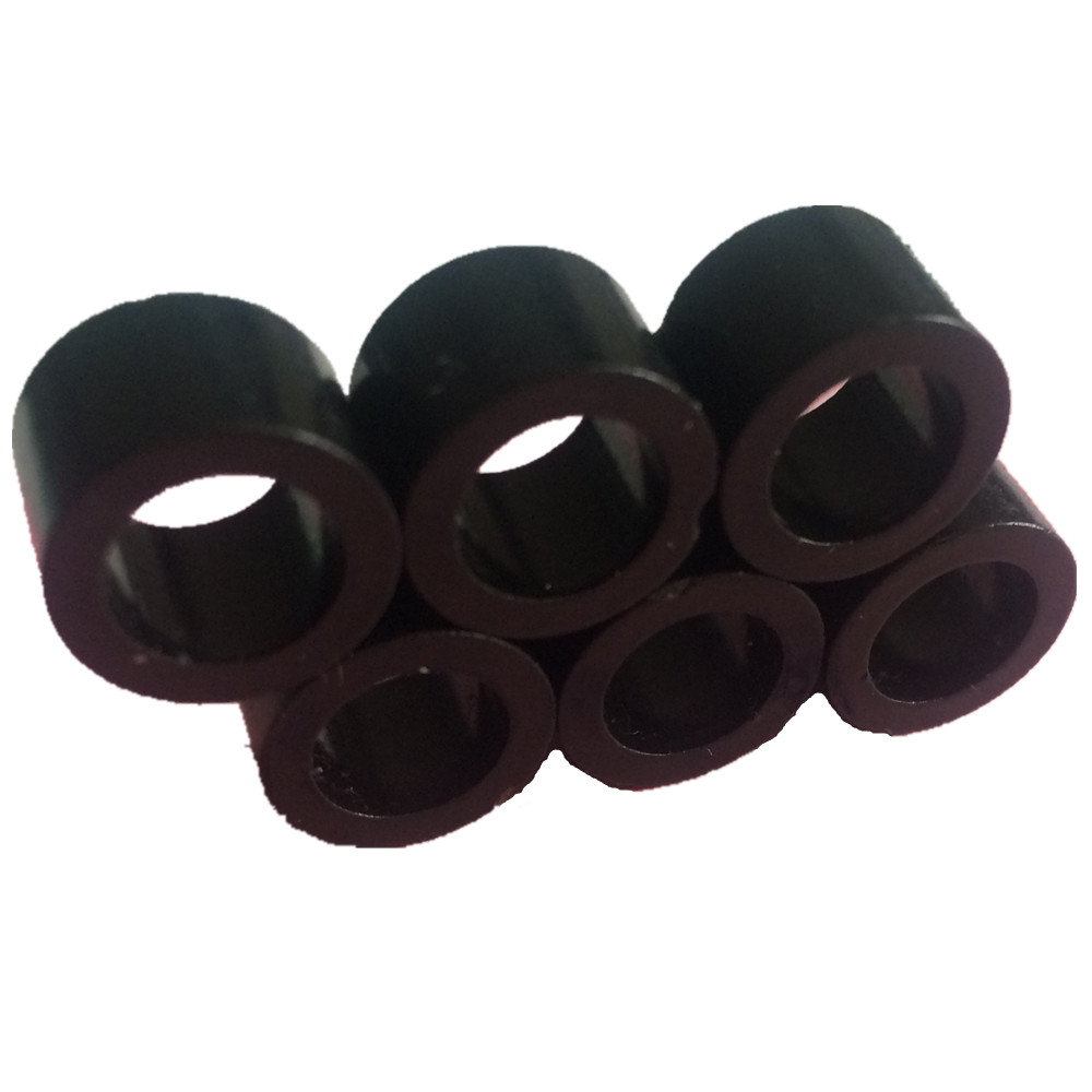 24-500pcs Bonded NdFeB Diametrically 12 Poles Magnet Ring OD 12x8x8 mm Neodymium Permanent Magnets Black Epoxy Coating for Rotor 1 pack diametrically ndfeb magnet ring diameter 9 53x3 18x3 18 mm 3 8 1 8 1 8 tube magnetized neodymium permanent magnets