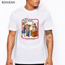 Newest T Shirt Men Demon Death Scary Evil T-shirt halloween Man Tshirt Satan Funny Hip Pop Fashion Tees