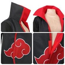Naruto Long Printed Cosplay Cloak