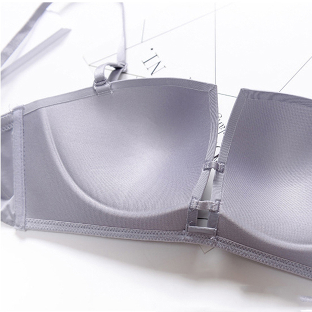 Push Up Seamless Bra Bralette Deep-V Square Cup Plus Size Bra Bralet Brassier Invisible Strapless BH Wire Free EU&US Style Bra