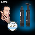 New Kemei KM-96882 In 1 Nose Hair Trimmer Removal Electric Rechargeable Shaver Nose Ear Trimmer Mini epilator Body Shaver Razor